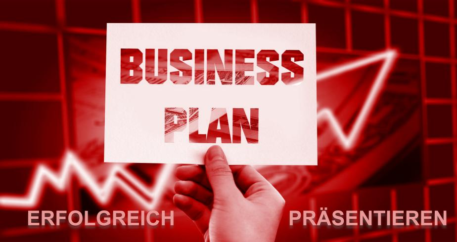 Businesspöan präsentieren