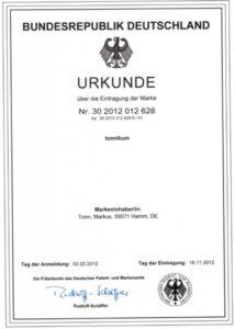 TONNIKUM ® - Die Trainingsmarke seit 2012